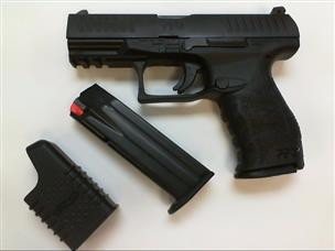 Walther PPQ M2 Pistol 9mm 4in 15rd Black - pre owned Like